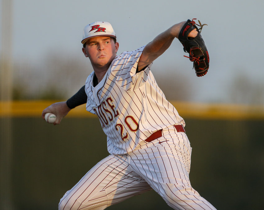 Senior Andrew Kithil will start for Rouse when the Raiders take on Hallsville Thursday night in their first-ever state tournament appearance at Dell Diamond.