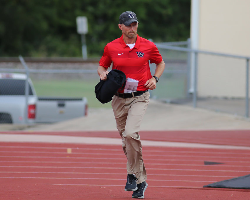 Vista Ridge defensive coordinator Chad Scott was named head coach of the Rangers on Tuesday night. He was the defensive coordinator for the Rangers before the promotion to head coach.