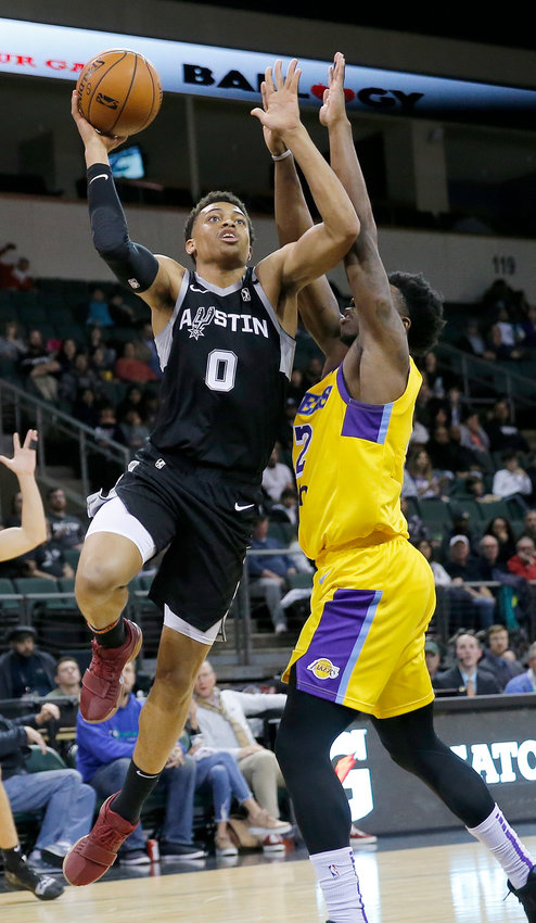 Former Austin Spurs player Keldon Johnson will represent the U.S. at the Tokyo Olympics. He is the third San Antonio player to play for Team USA, joining Tim Duncan and David Robinson.