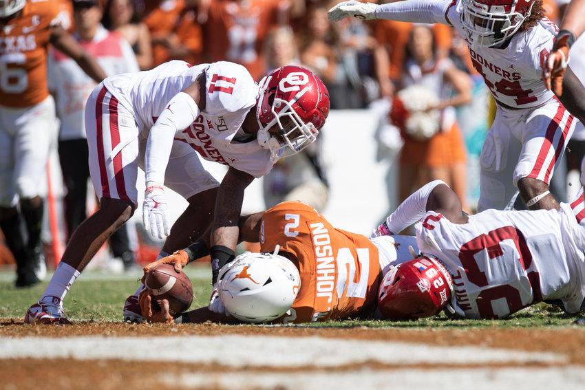 Texas and Oklahoma officially requested an invitation to join the SEC on Tuesday. The schools notified the Big 12 on Tuesday that they would not be renewing their grants of media rights when they expire in 2025.