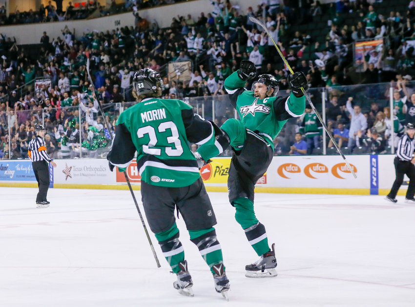 Curtis McKenzie is returning to the Texas Stars on a two-year deal. He was the AHL Rookie of the Year and won a Calder Cup with Texas in 2014.