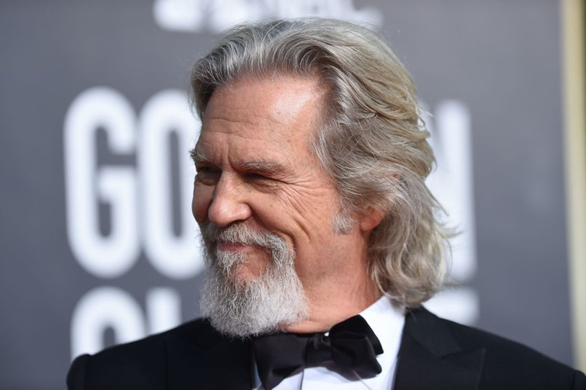 US actor Jeff Bridges arrives for the 76th annual Golden Globe Awards on January 6, 2019, at the Beverly Hilton hotel in Beverly Hills, California. (Valerie Macon/AFP via Getty Images/TNS)