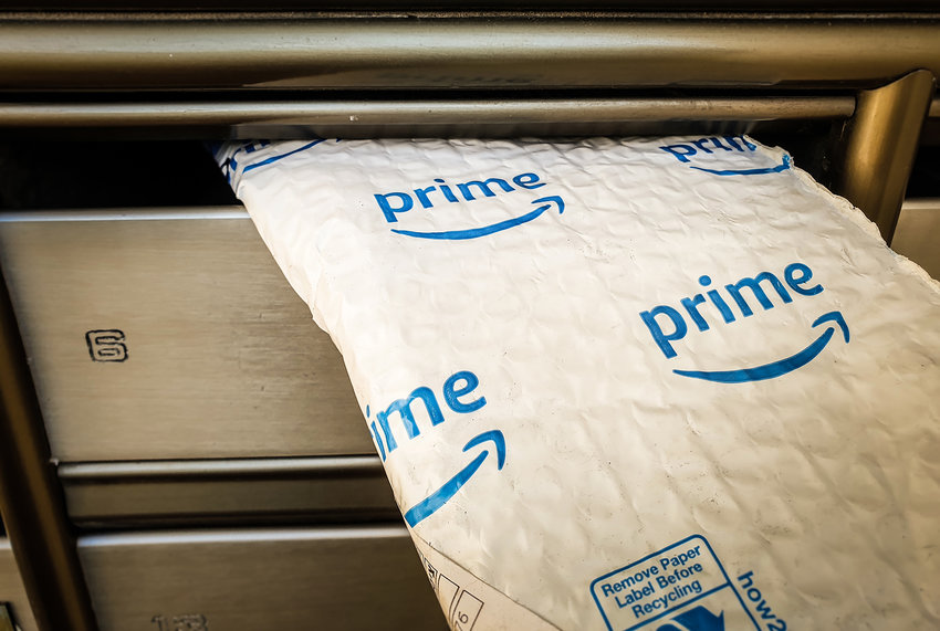 Amazon packaging creates a huge amount of plastic waste, posing serious problems for global waterways, according to a report from the environmental nonprofit Oceana. (Dreamstime/TNS)
