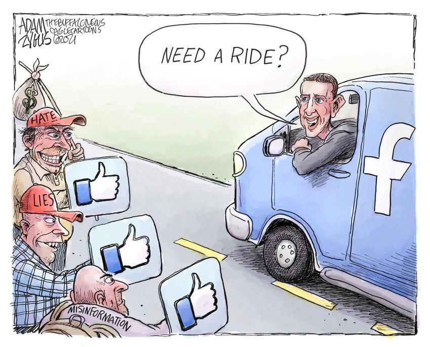 October 7, 2021: Facebook business model