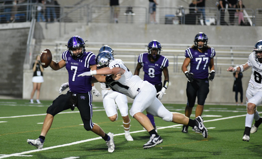 Vandegrift allowed fewer than 10 points for the third game in a row and fourth time this season in their 35-7 win over Cedar Ridge Thursday night at Kelly Reeves Athletic Complex.