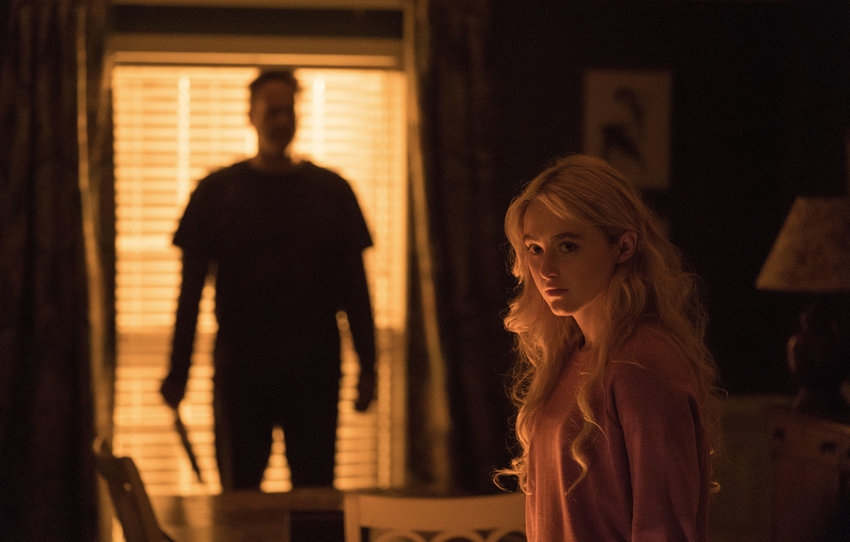 """Vince Vaughn, left, and Kathryn Newton in """"Freaky."""" (Blumhouse Productions/Entertainment Pictures/Zuma Press/TNS)"""