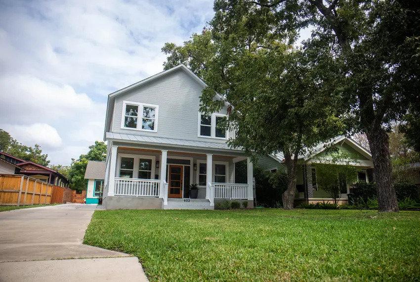 A home in North Austin. Oct. 9, 2020. Credit: Amna Ijaz/The Texas Tribune