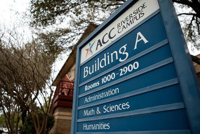 Austin Community Colllege's Riverside campus on Feb. 27, 2019. Credit: Miguel Gutierrez Jr./The Texas Tribune