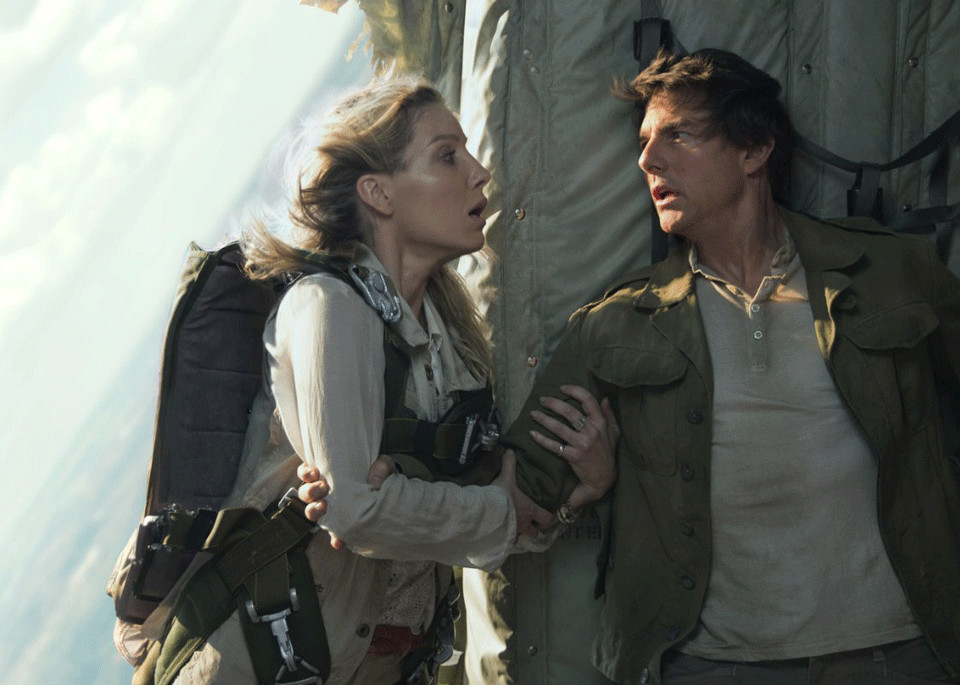 "Tom Cruise and Annabelle Wallis star in ""The Mummy"" (2017)."