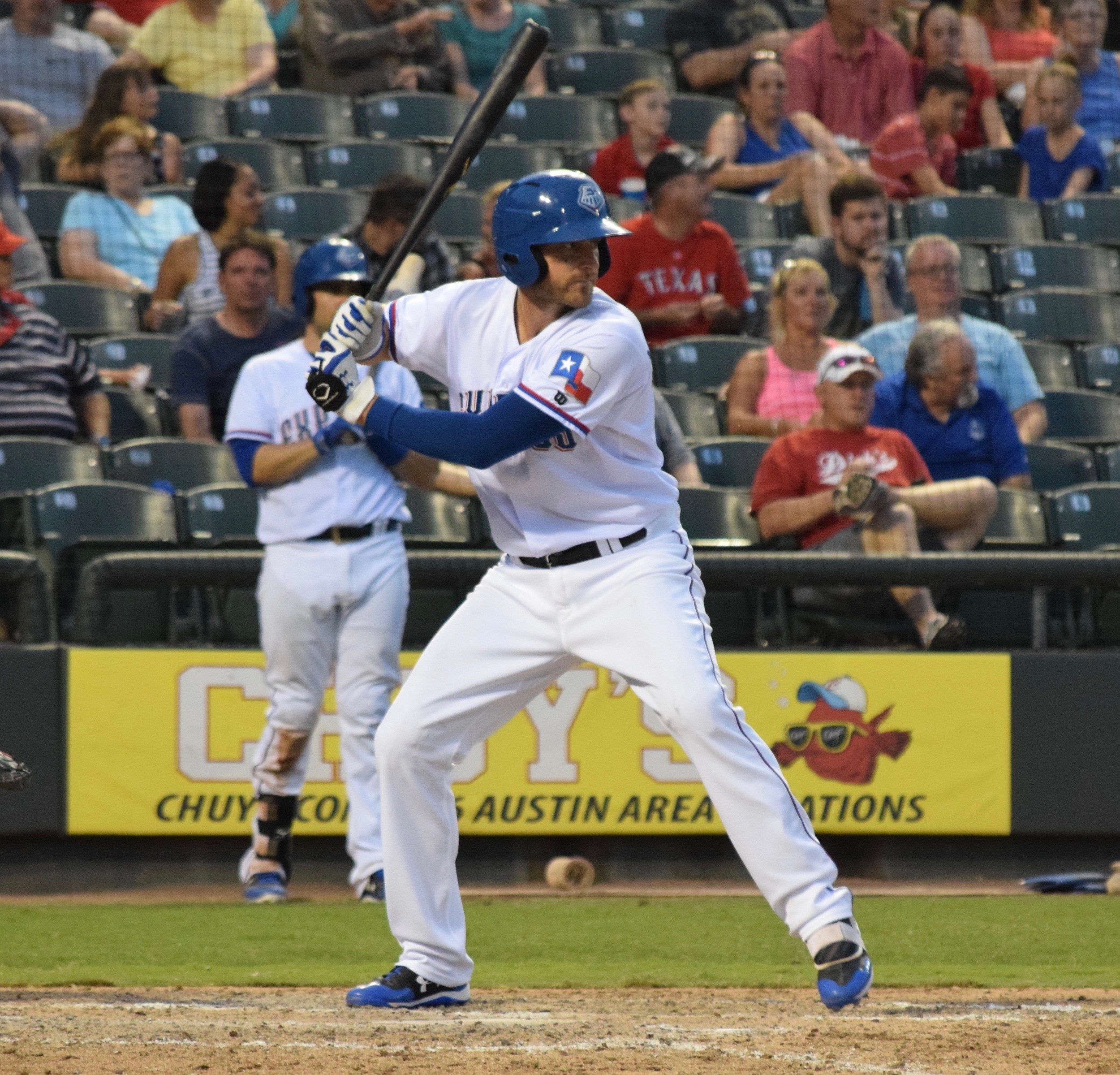 Will Middlebrooks hit a walk-off two-out double in the 11th inning and the Round Rock Express beat the El Paso Chihuahuas 7-6 Monday night.