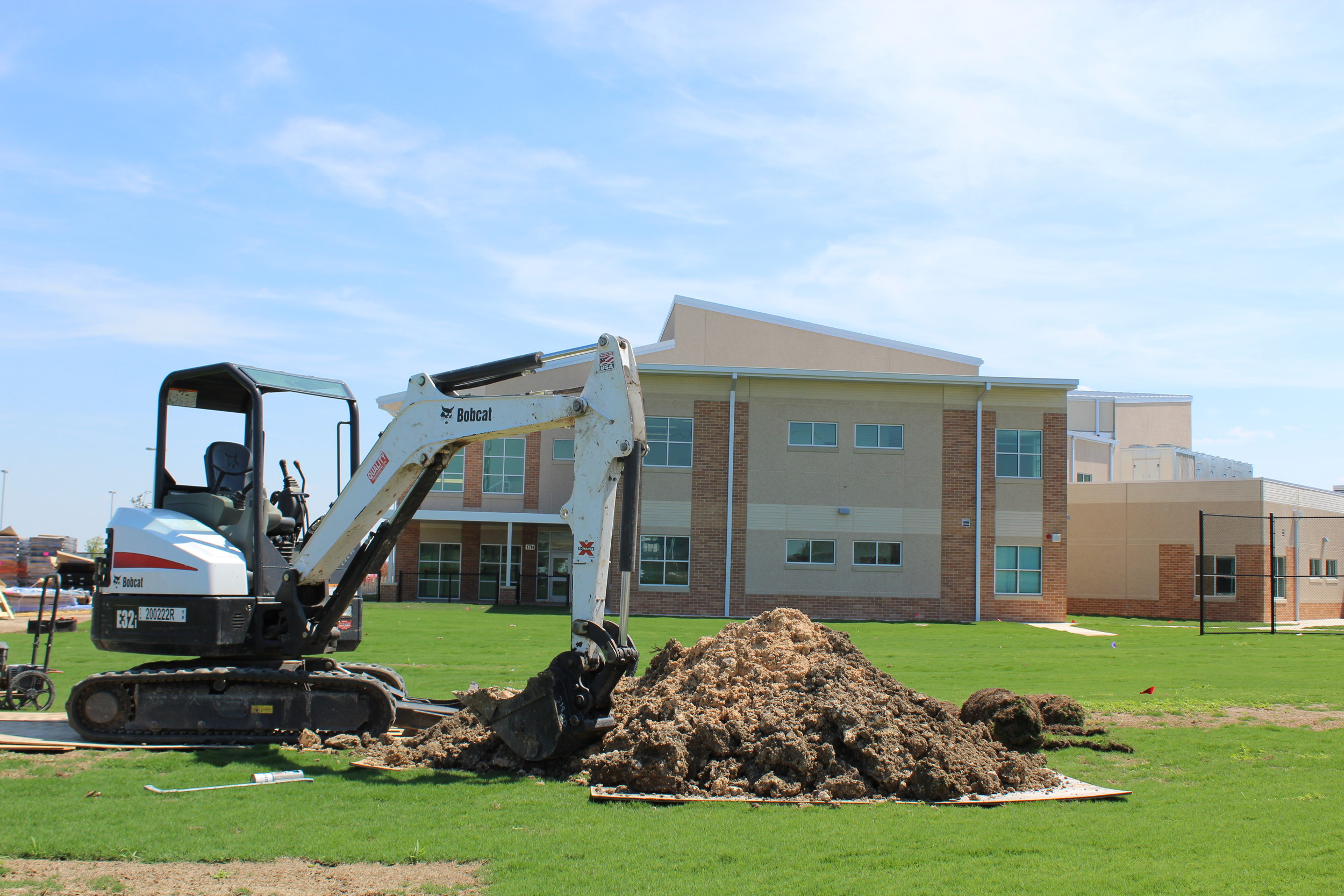 Construction for Monta Jane Akin Elementary, also known as elementary school No. 26, is underway in Leander. An LISD bond proposal recommends building four more schools to meet projected population trends.