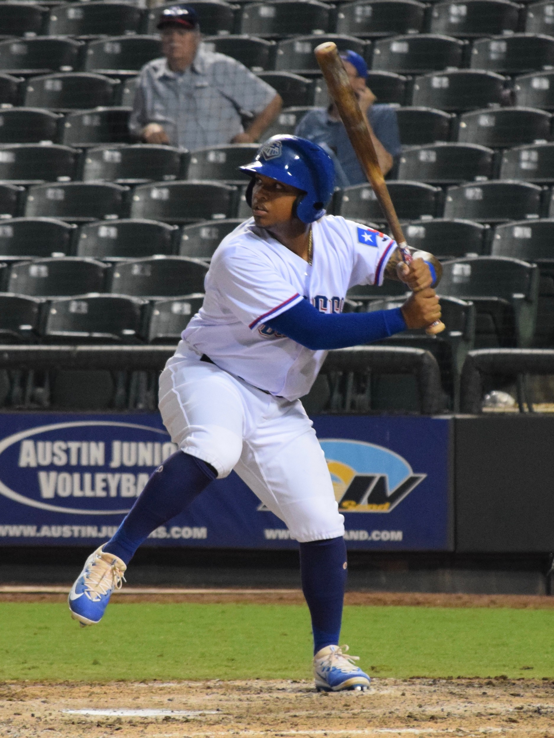 Willie Calhoun hit his first home run since joining the Express and Round Rock beat the Albuquerque Isotopes 6-1 on Thursday night.