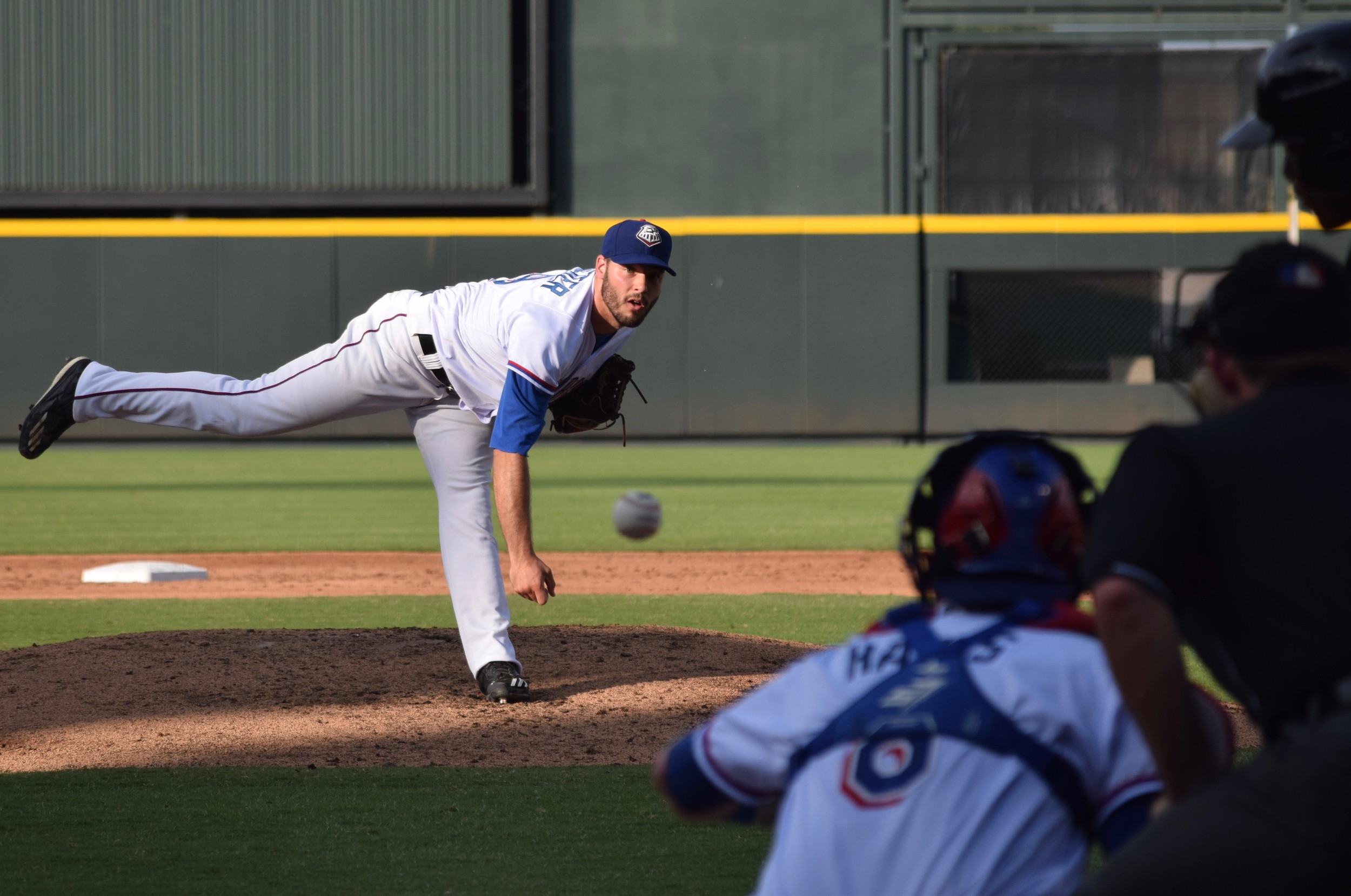 David Ledbetter lasted six innings and gave up three runs on four hits with five strikeouts in Round Rock's 5-4 win against Albuquerque Sunday night.