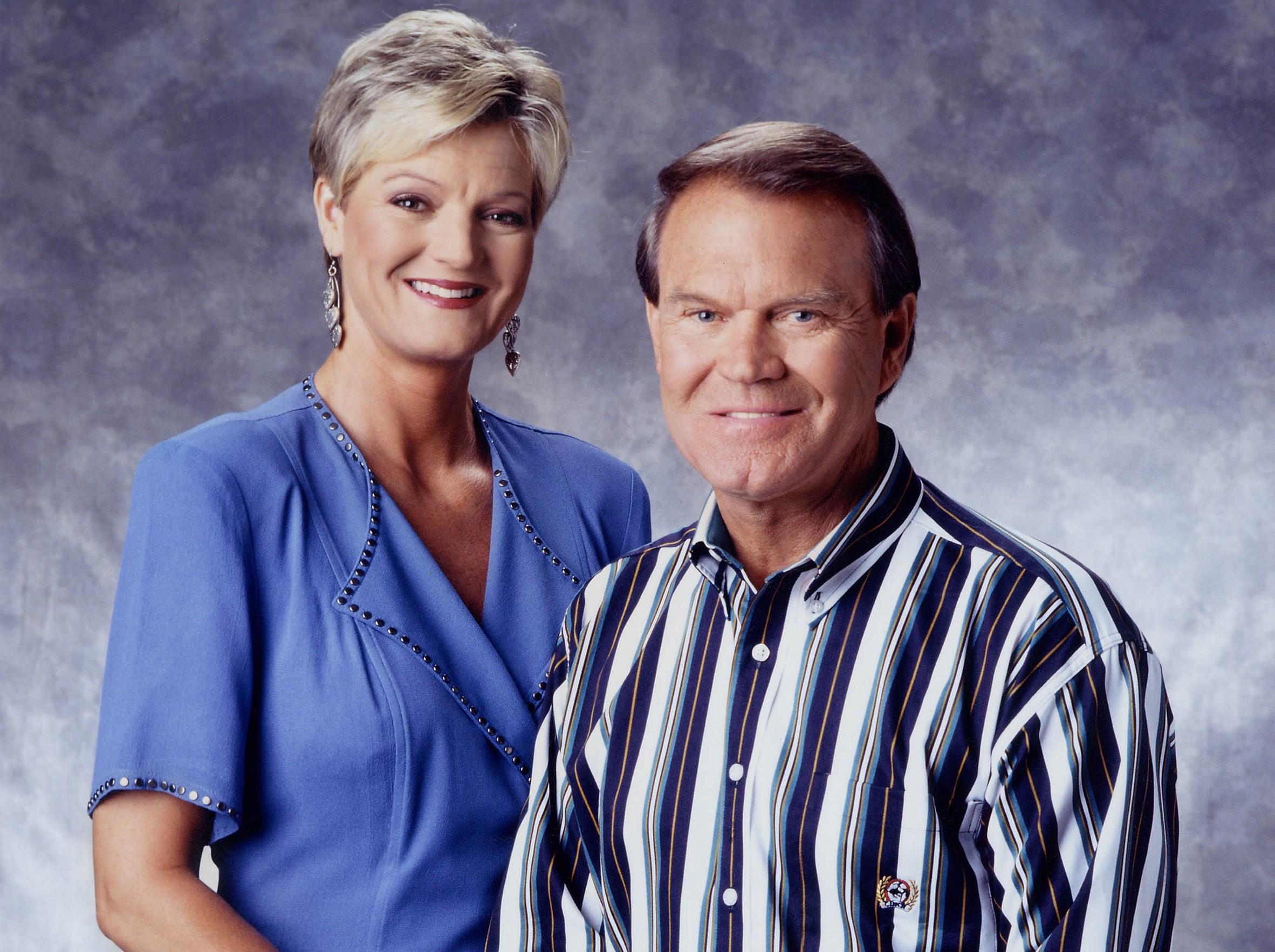 Glen Campbell with his daughter, Debby.