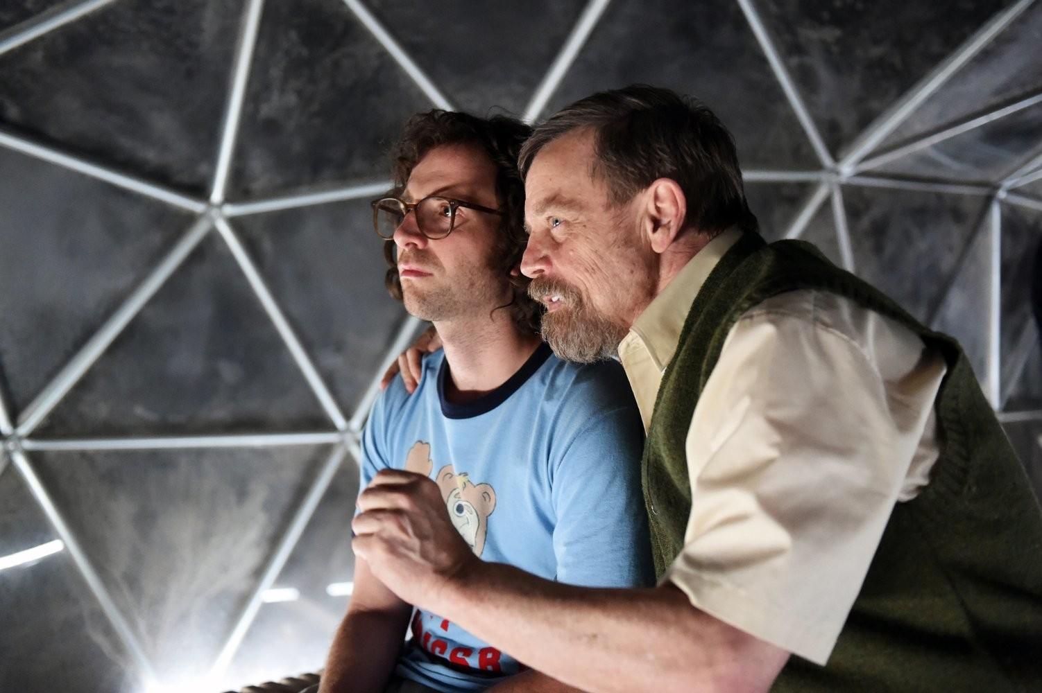 "Kyle Mooney and Mark Hamill star in ""Brigsby Bear"""