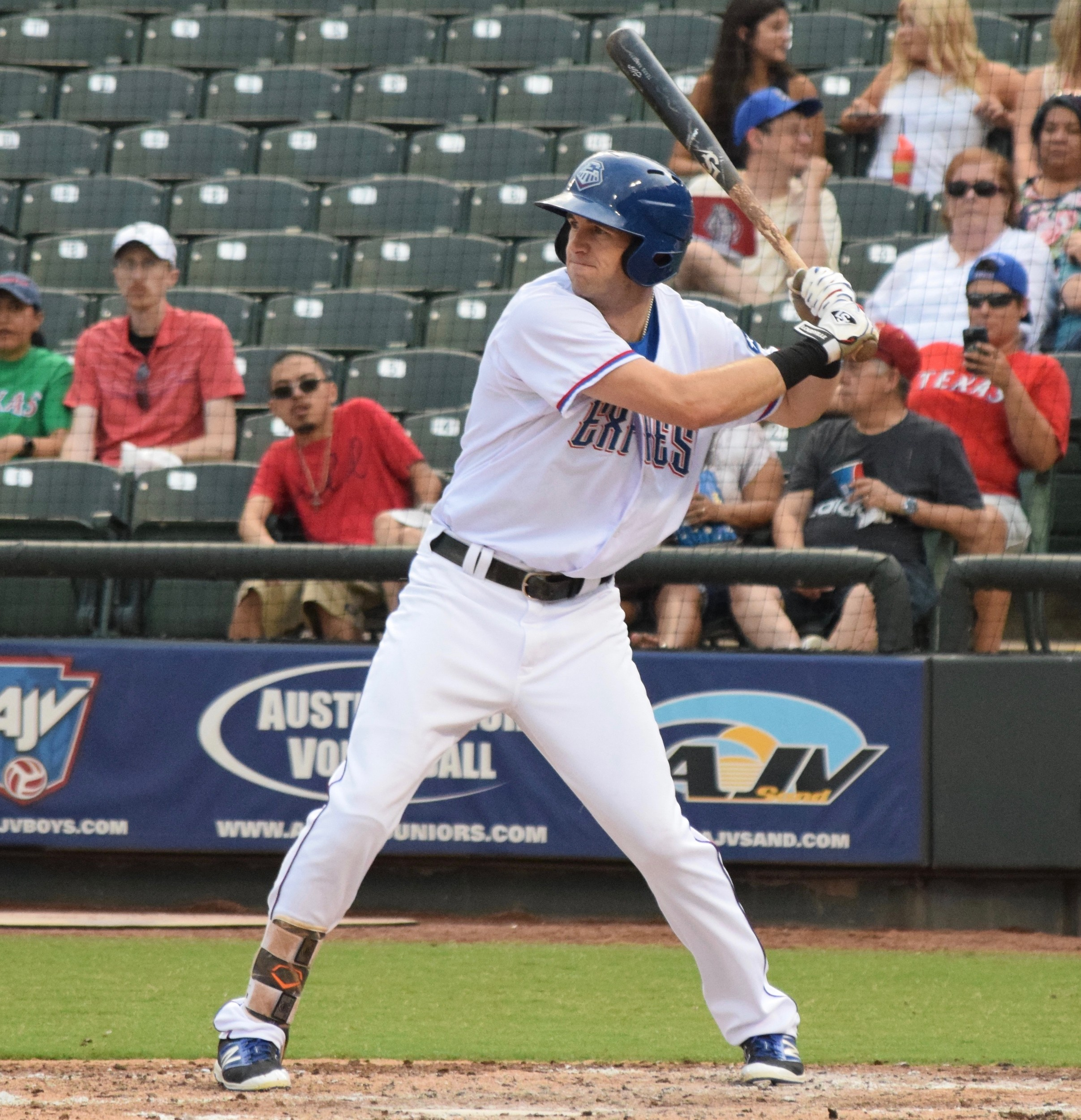 Jared Hoying collected three hits and the Express beat the Colorado Sky Sox 4-1 on Tuesday night