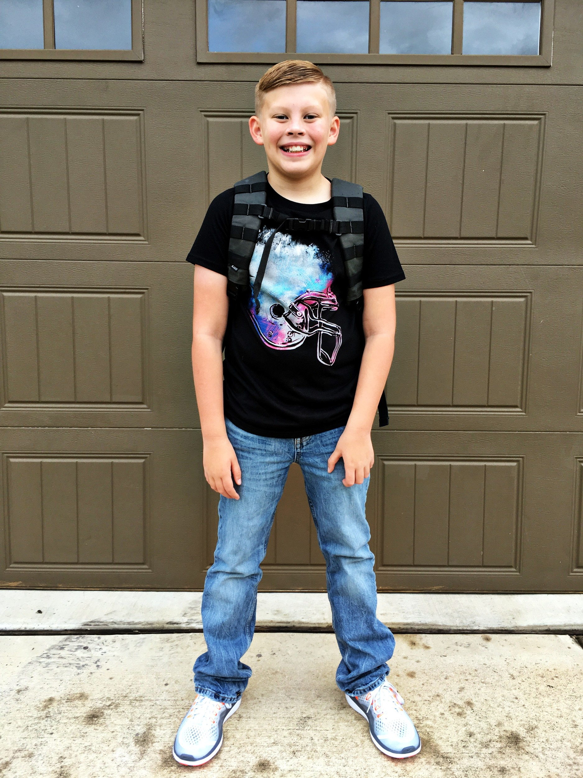 Bryson Sherman, 11, 6th grade at Stiles Middle School