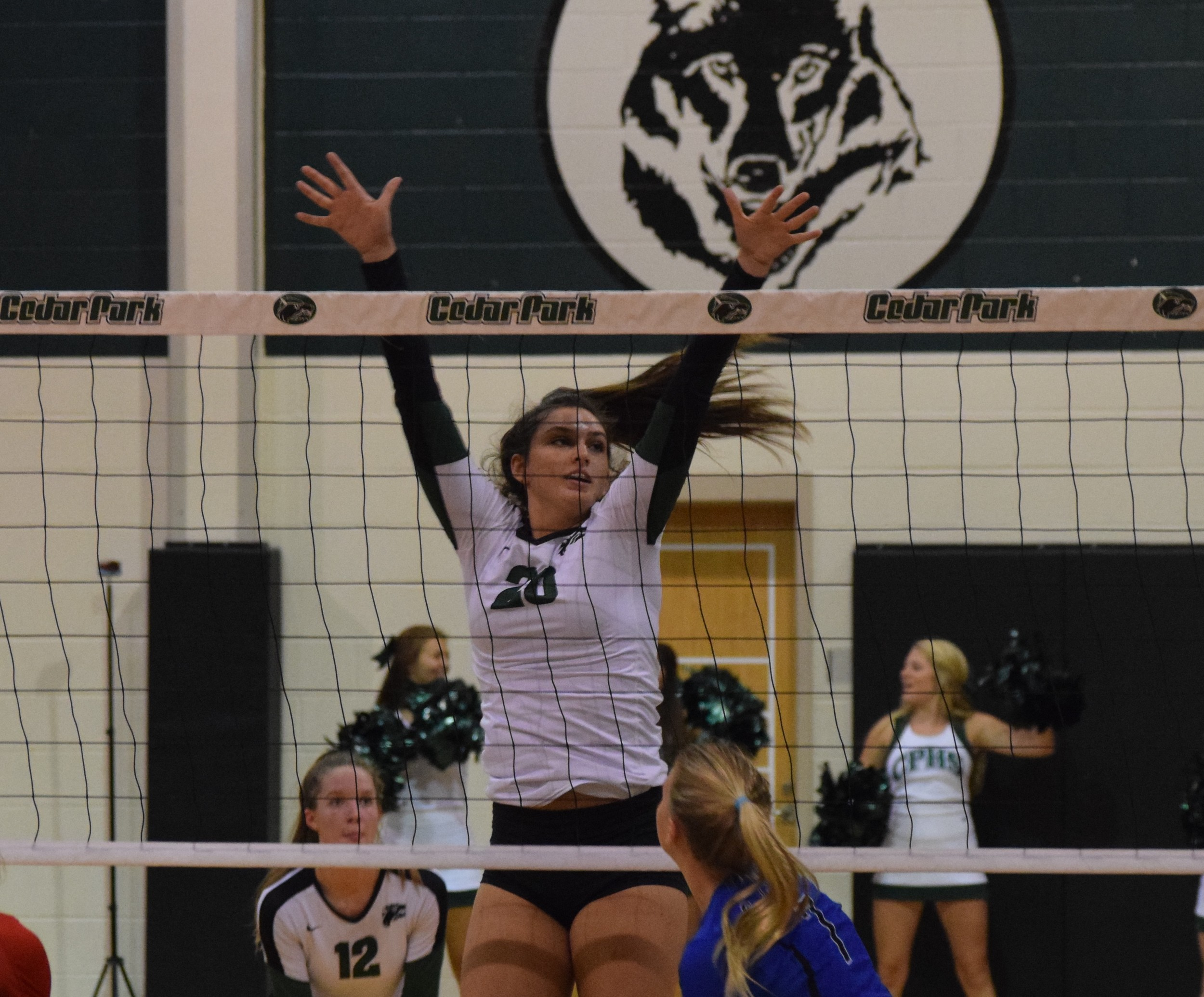 Shelby Epley and Cedar Park beat Cedar Creek 3-1 at home on Tuesday night.