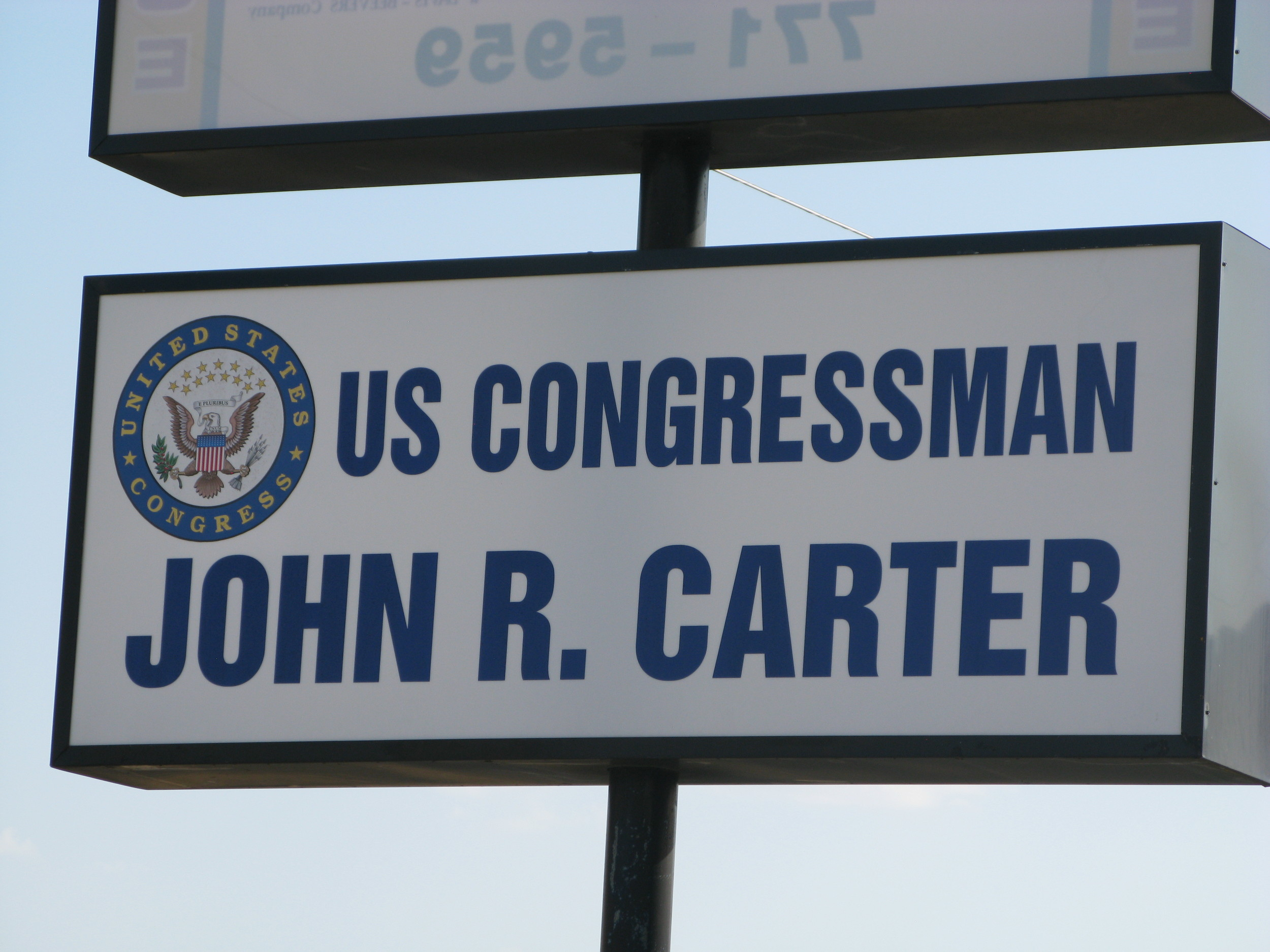 Congressman John R. Carter has offices in Temple, (pictured) and Round Rock within Texas' 31st Congressional district.