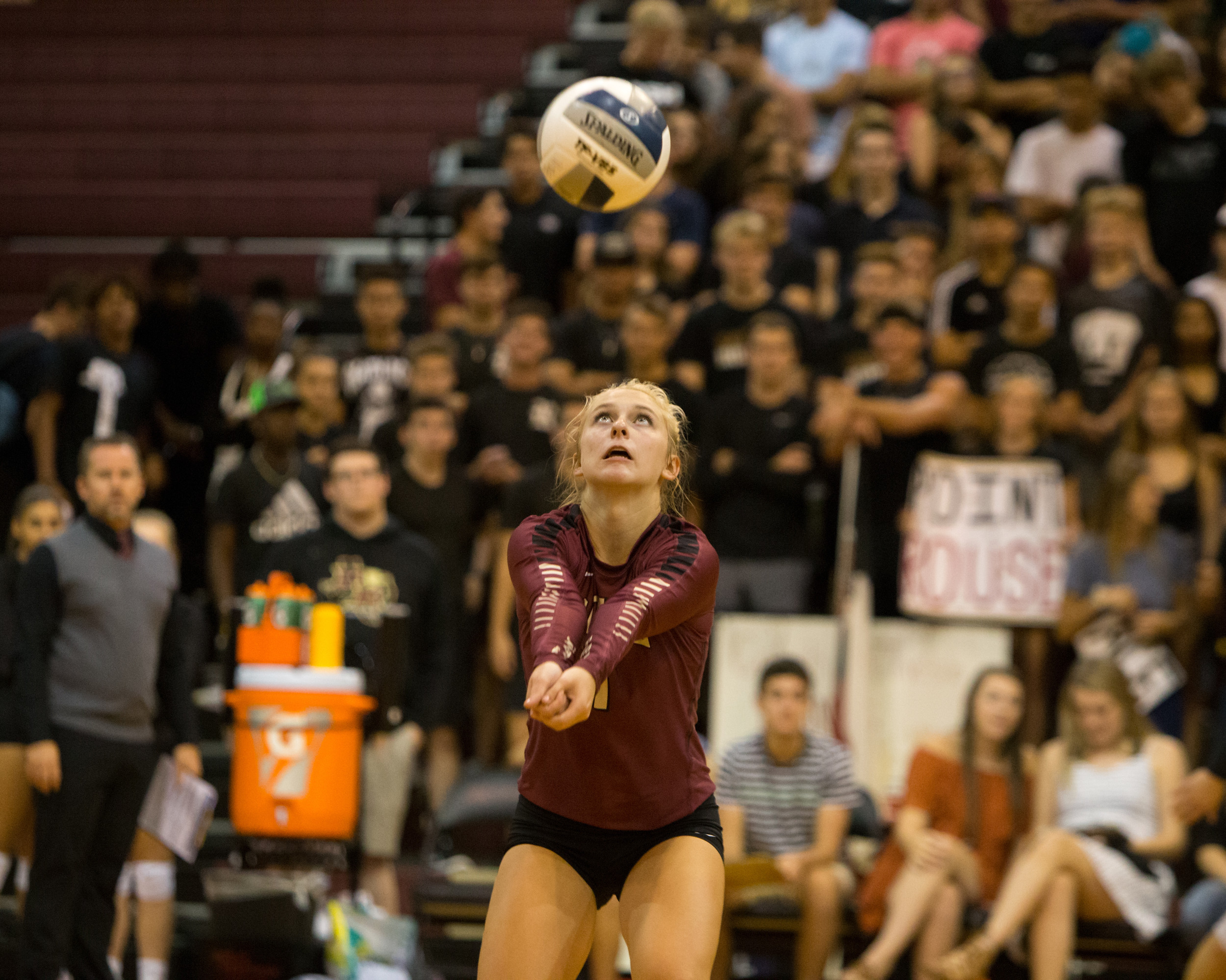Katy Northcut and Rouse are ranked No. 1 in the state and have won 39 straight sets as of Monday morning.