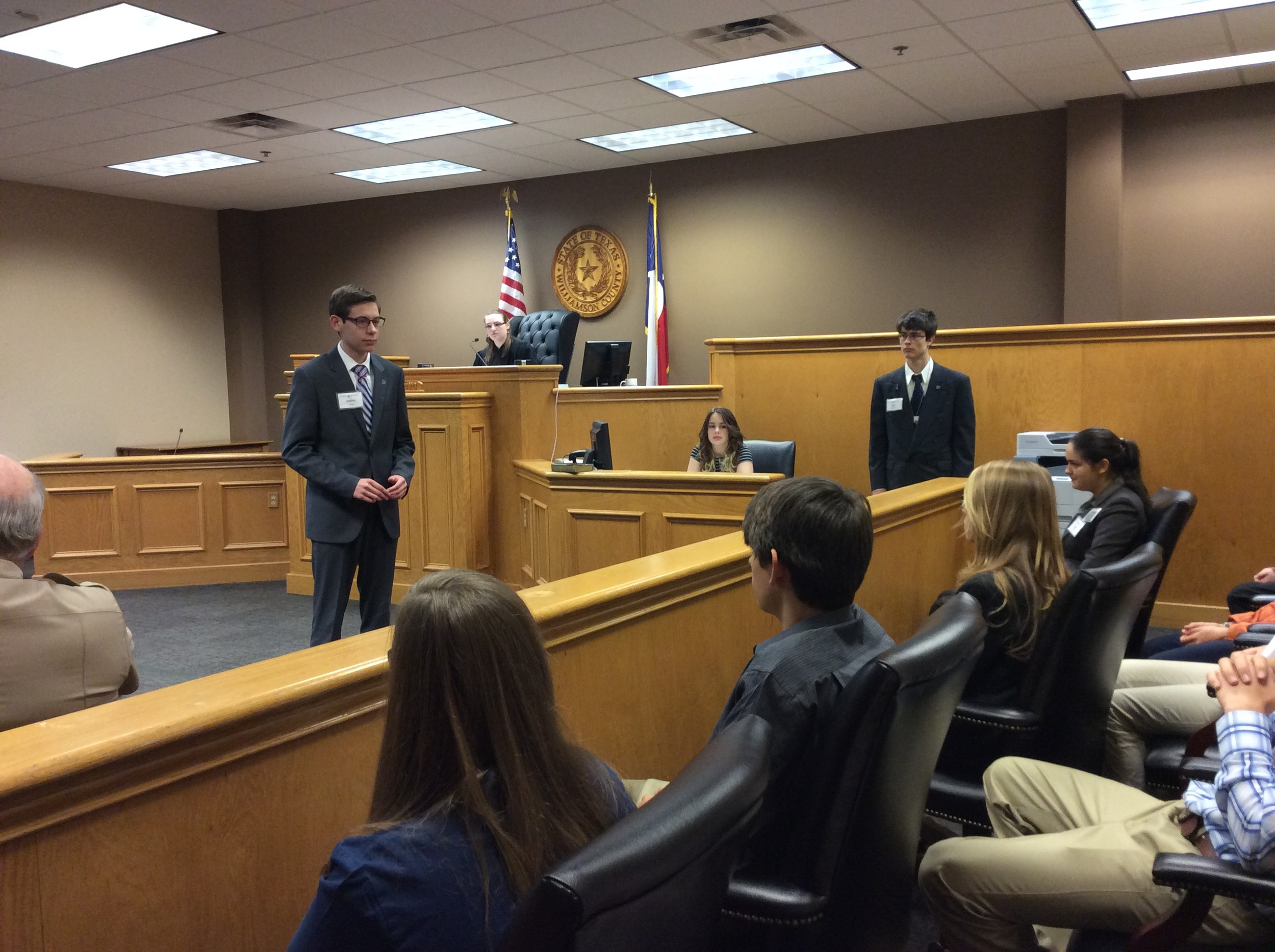 Ind courts teen court at