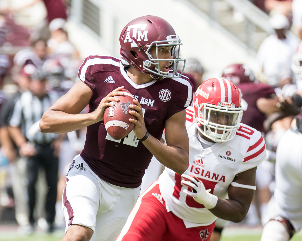 Texas A&M vs. Louisiana-Lafayette live stream
