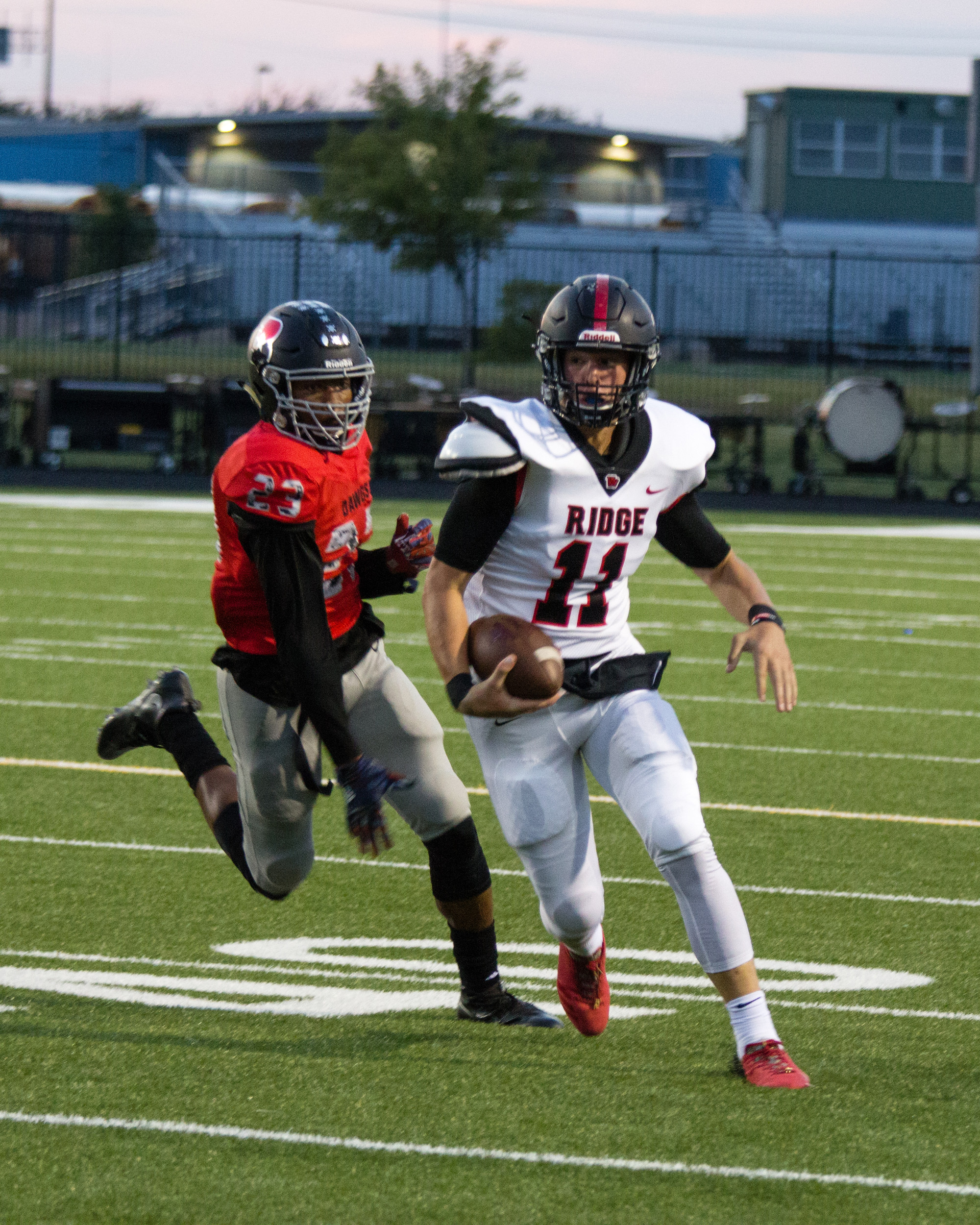 Jacob Taute and Vista Ridge host Westwood Friday night in the final game before district play begins. The Rangers dropped their second game of the season last week against Austin Bowie.