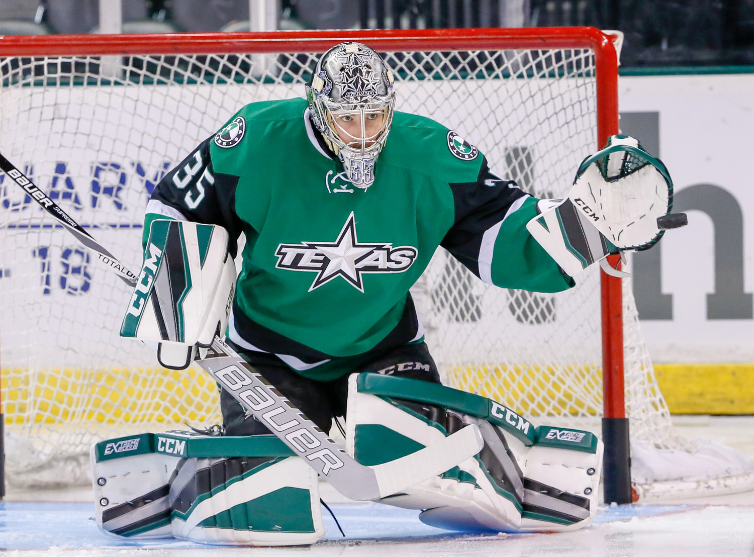 Mike McKenna and the Texas Stars begin the season Friday night at home against the Chicago Wolves.