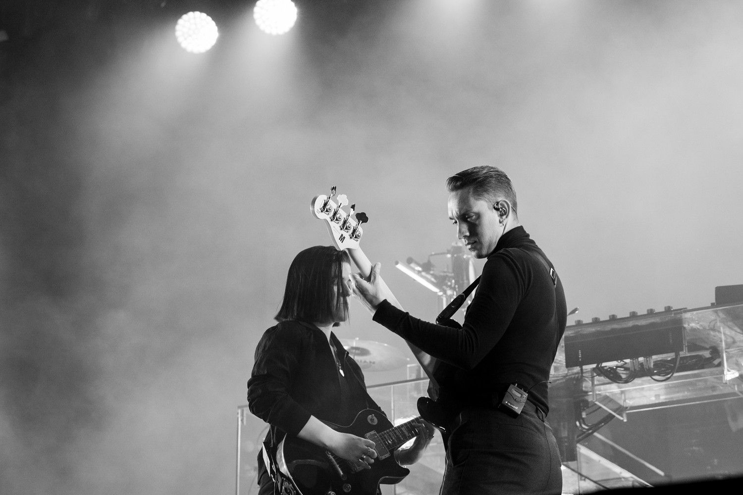 The xx perform at Austin City Limits, Friday, Oct. 6.