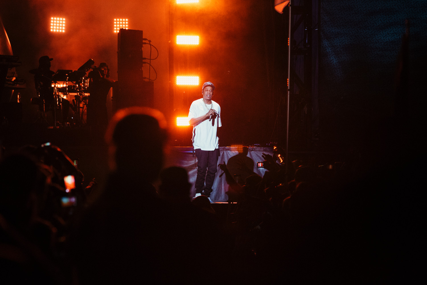 Jay-Z performs at Austin City Limits, Friday, Oct. 6.