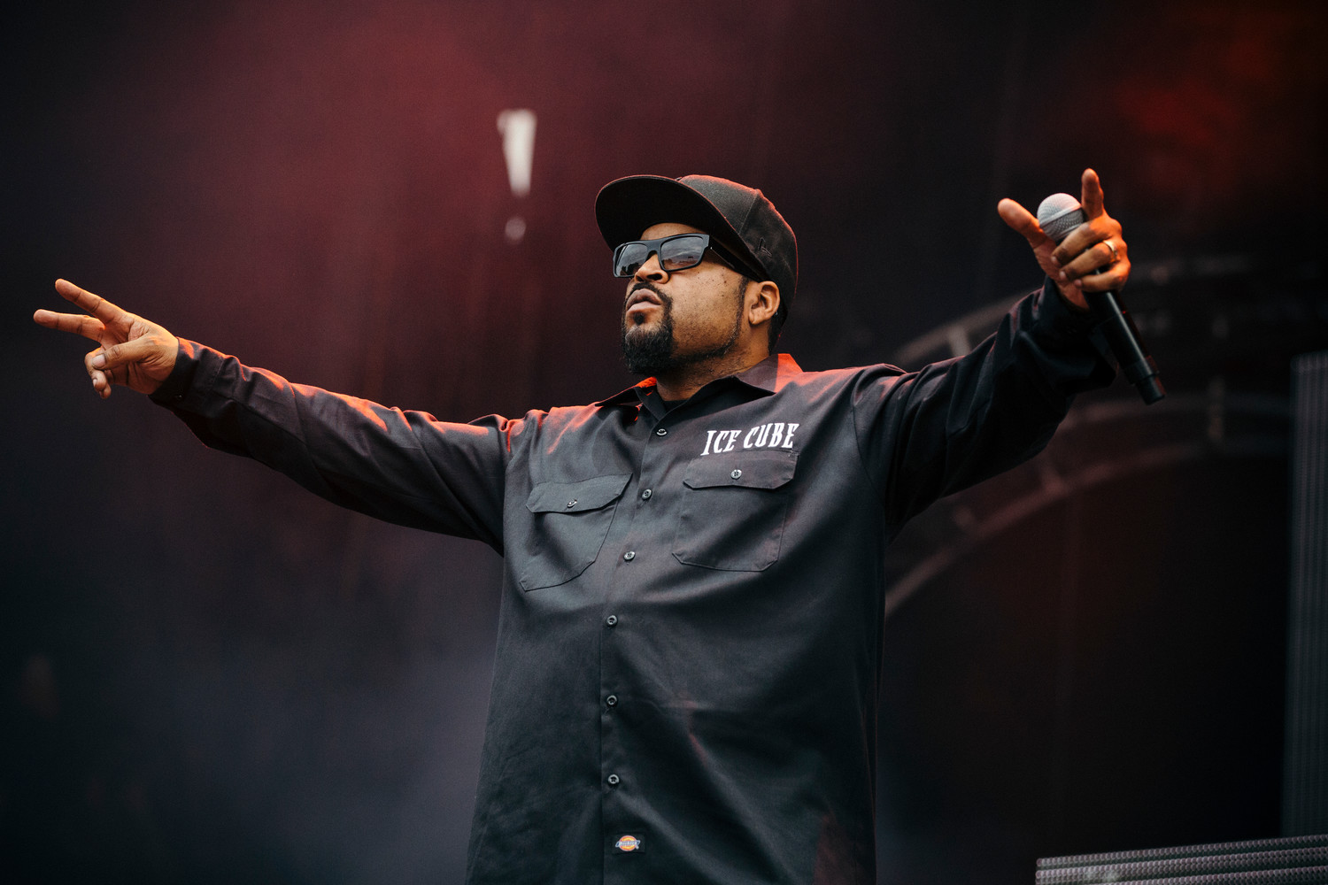 Ice Cube performs at Austin City Limits Festival, Saturday, Oct. 7.