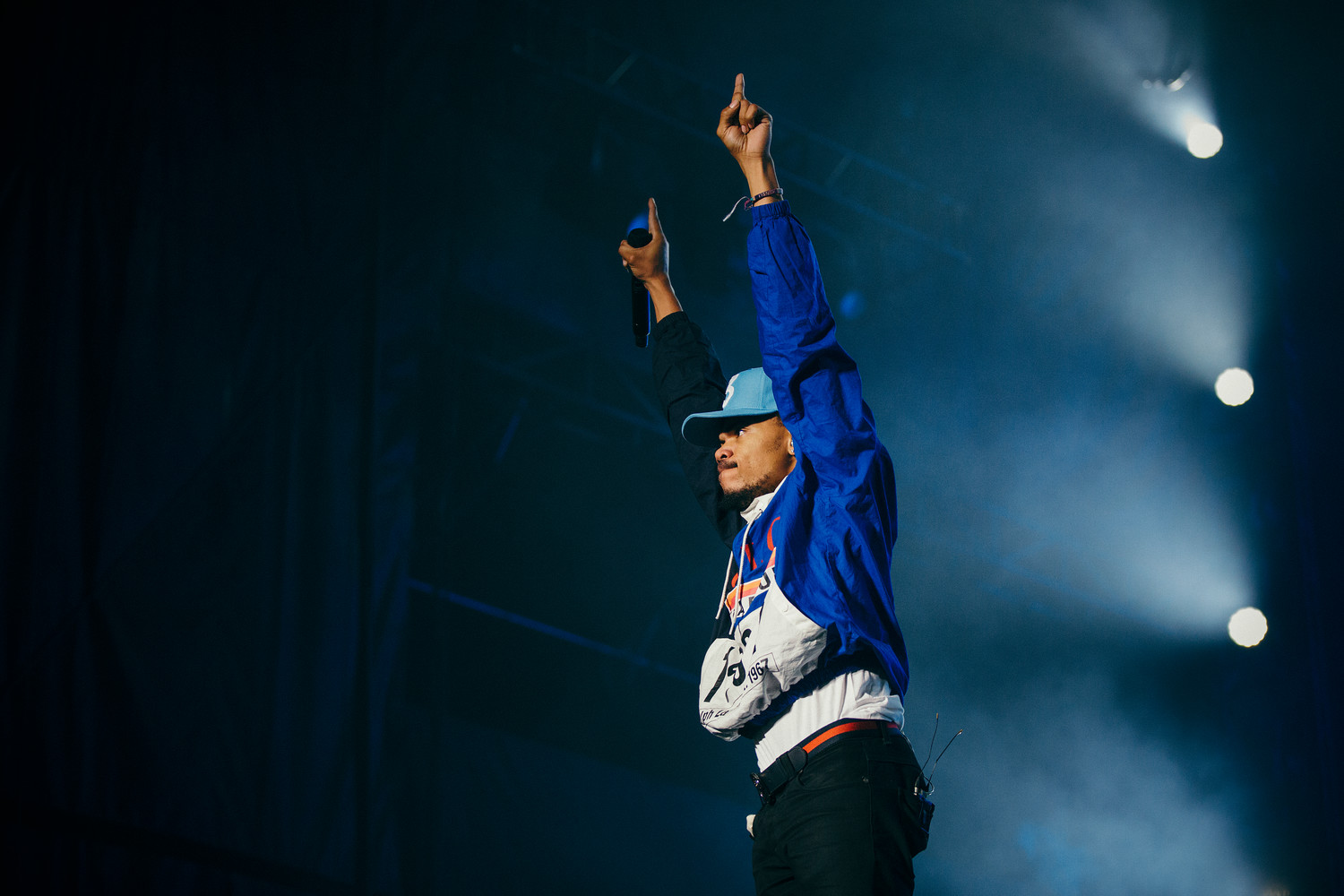 Chance the Rapper performs at Austin City Limits Festival, Saturday, Oct. 7.
