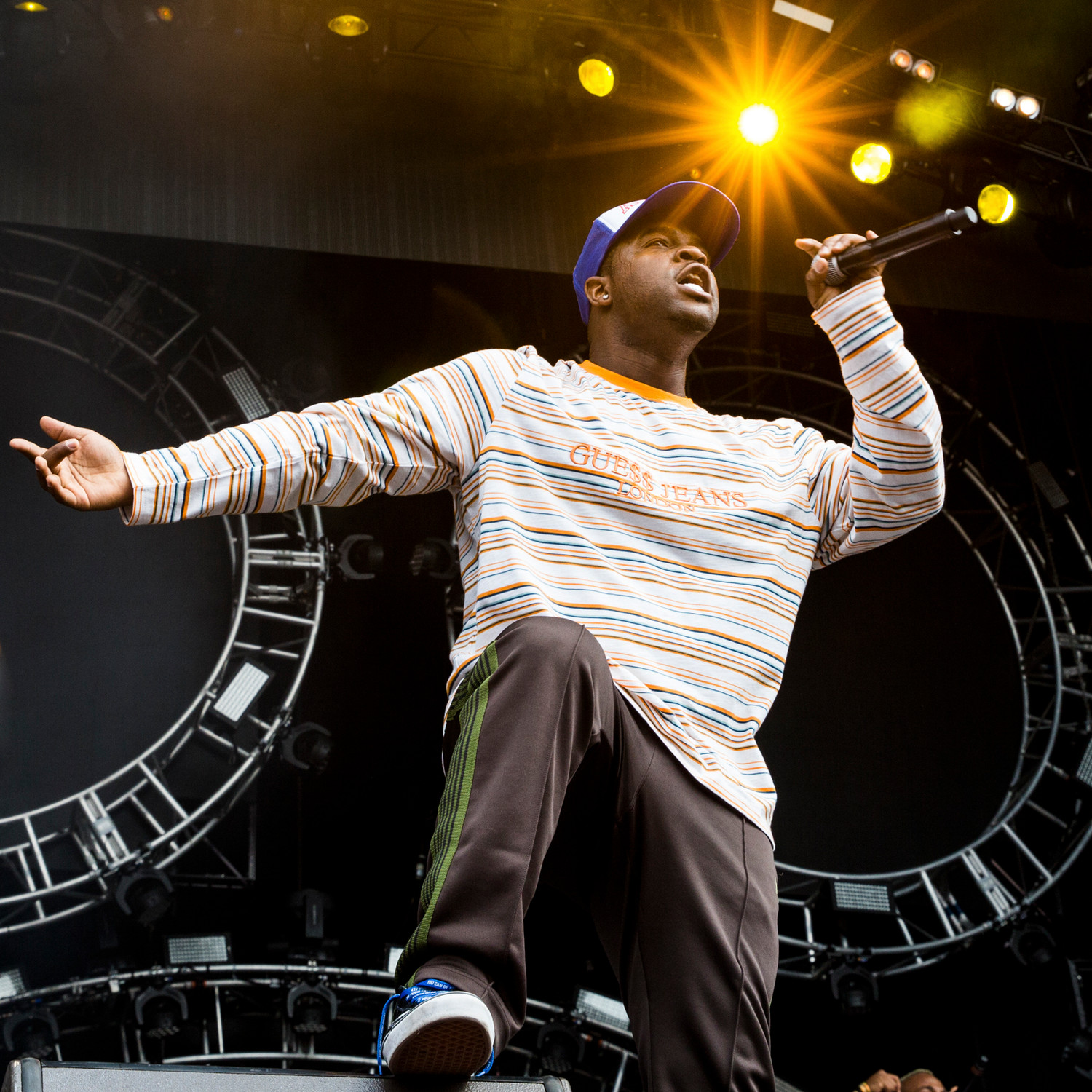 A$AP FERG performs at Austin City Limits Festival, Saturday, Oct. 7.