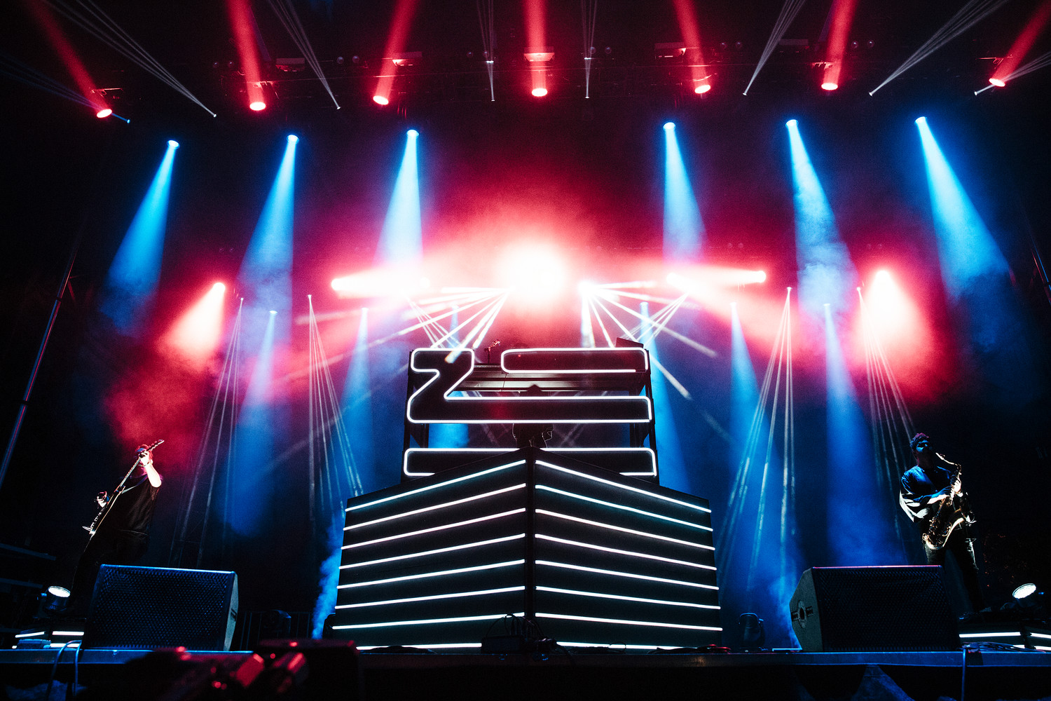 ZHU performs at Austin City Limits Music Festival, Sunday, Oct. 8.