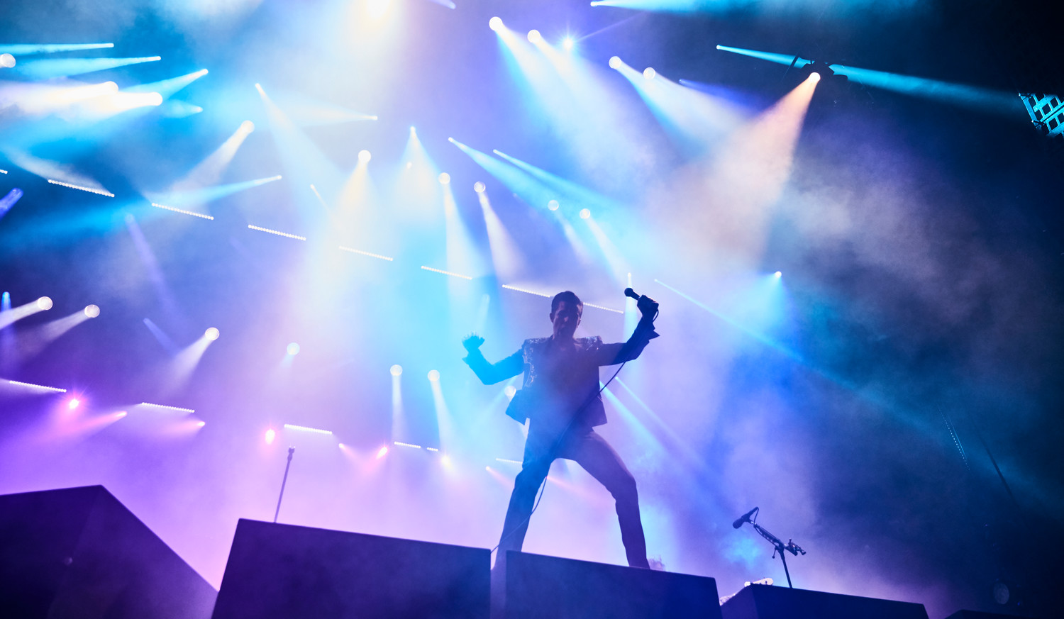 The Killers perform at Austin City Limits Music Festival, Sunday, Oct. 8, 2017.
