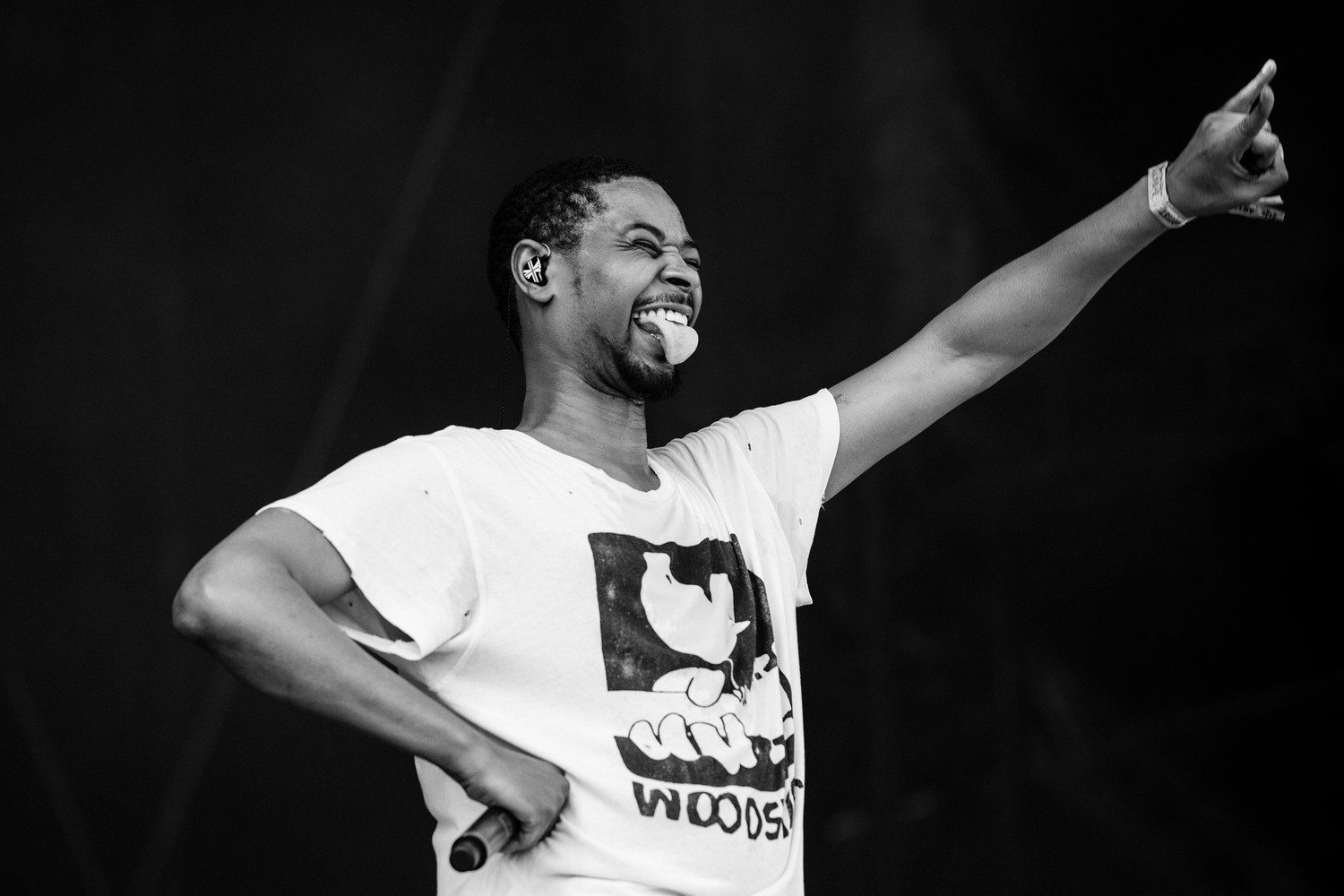 Danny Brown performs at Austin City Limits Music Festival, Sunday, Oct. 8, 2017.