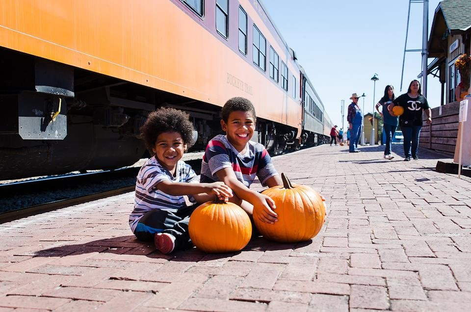 The Austin Steam Engine's Pumpkin Express and Murder Mystery train rides in October offer a festive adventure for both families and adults.