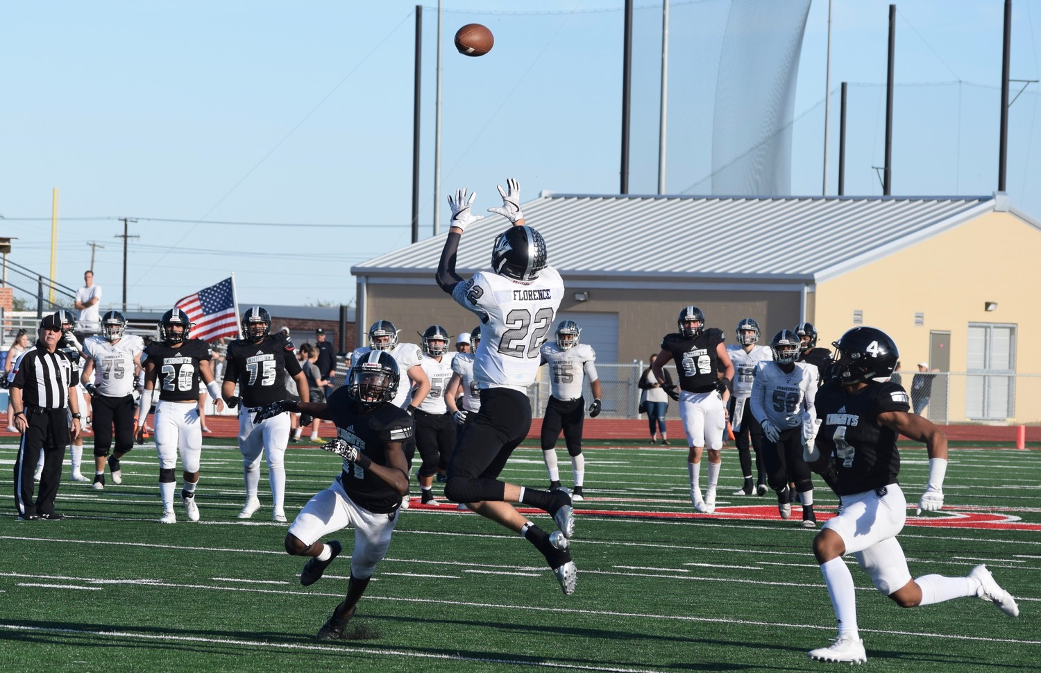 Justin Florence and Vandegrift lost to Cibolo Steele 36-18 in the area round of the playoffs Friday in New Braunfels.
