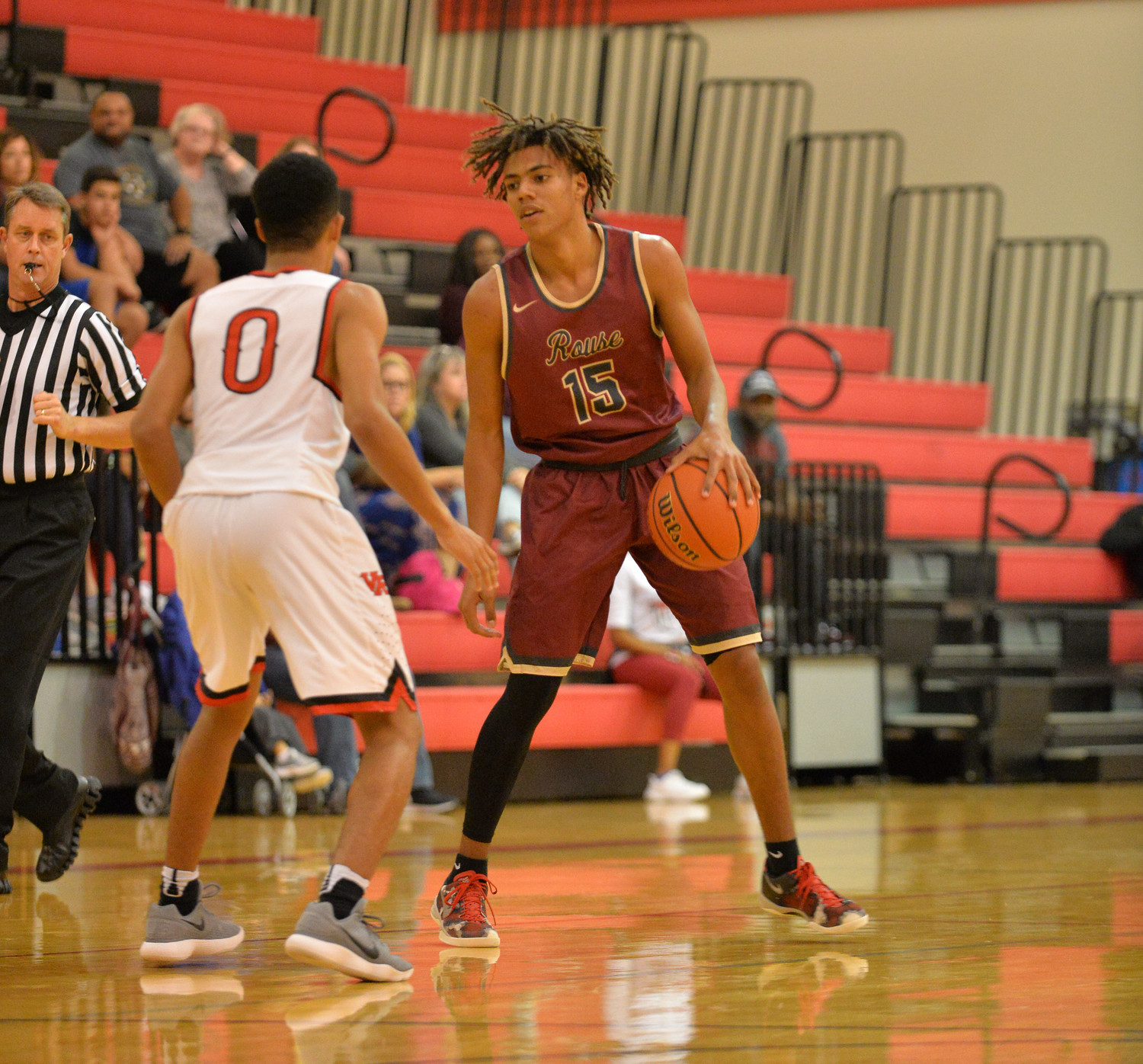 Trevor Berry and Rouse lost to Vista Ridge 52-43 on Tuesday night.