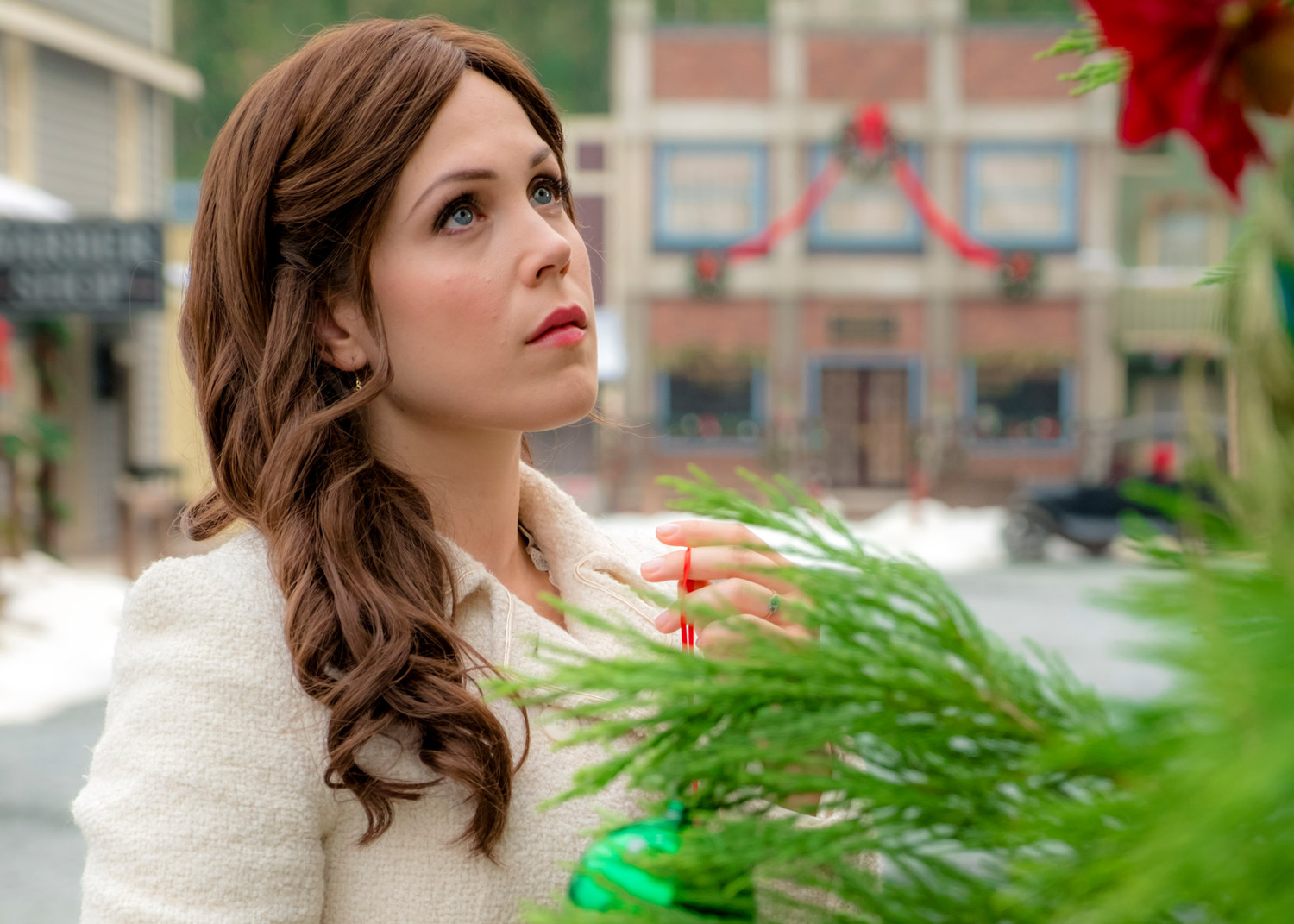 "Erin Krakow stars in ""The Wishing Tree."""