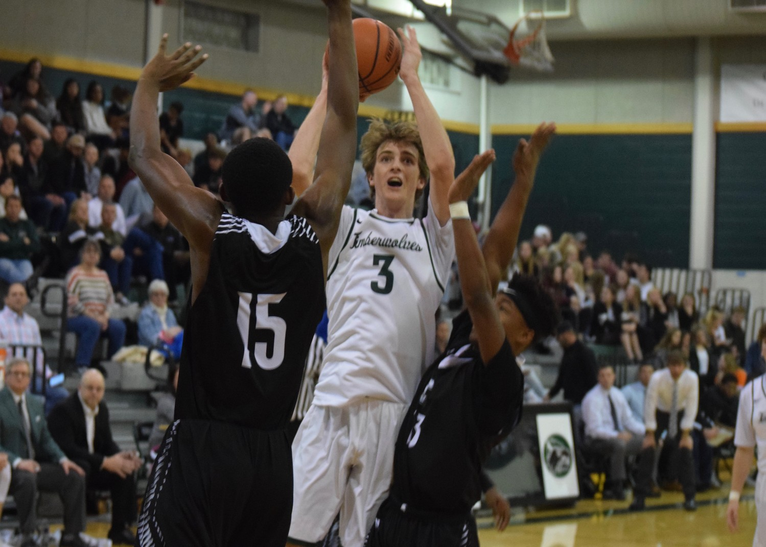 Eric Weeks scored seven points and Cedar Park beat Connally 52-51 on Friday night.