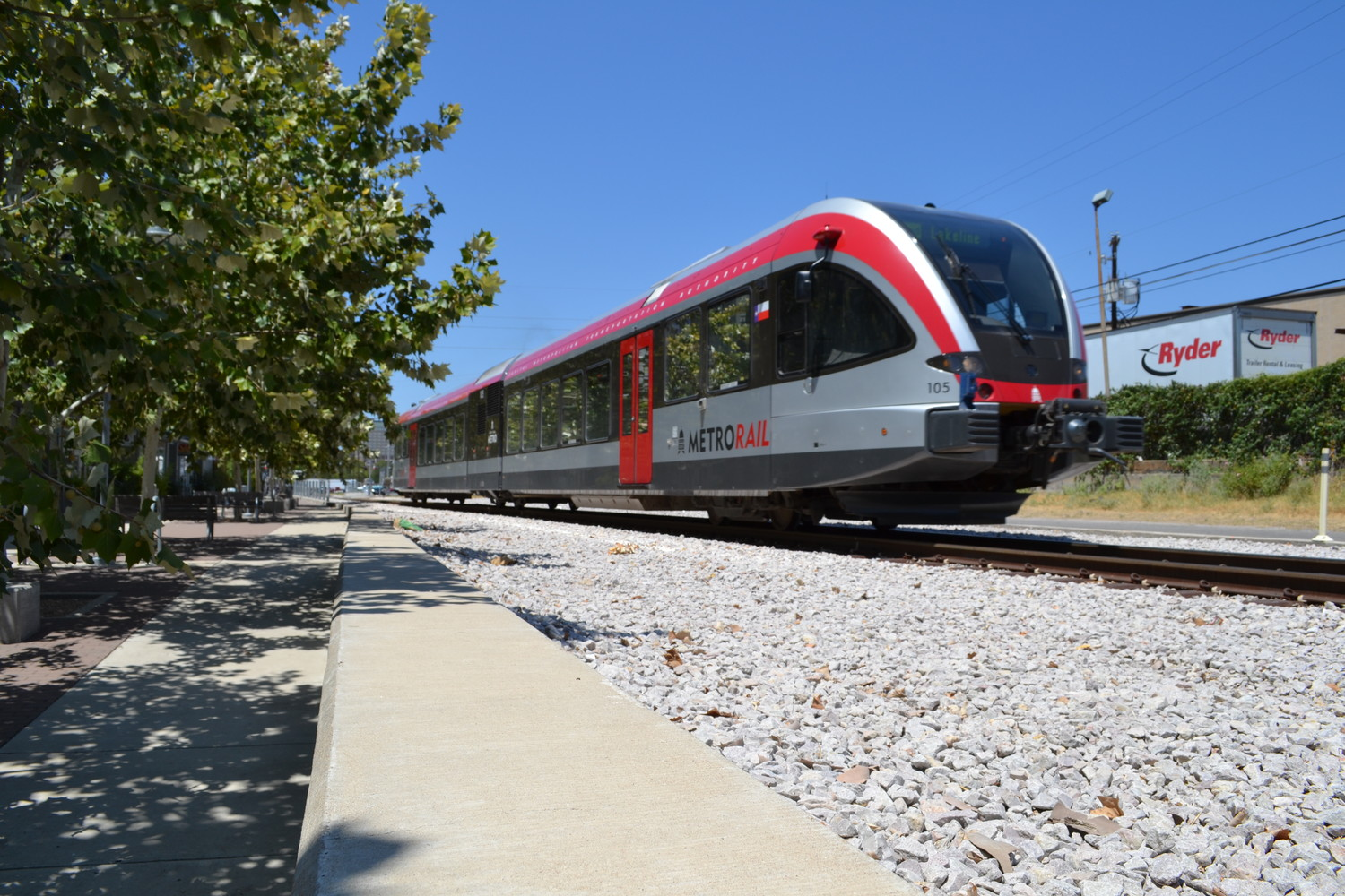 Capital Metro added four new trains to the MetroRail service Sunday in an effort to reduce overcrowded trains during peak times in the morning and afternoon.