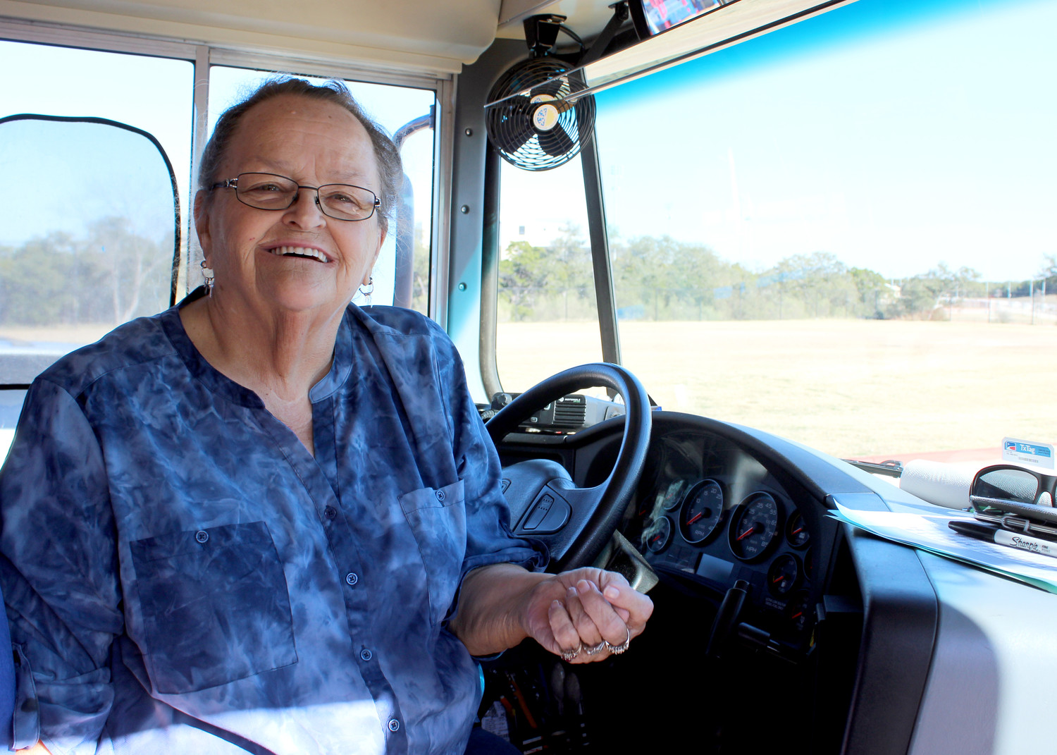 "Cheryl Fredlund has been a bus driver for LISD for 34 years. She said she thinks it's ""wonderful"" the district is addressing the bus driver shortage by raising hourly pay to $16.50."