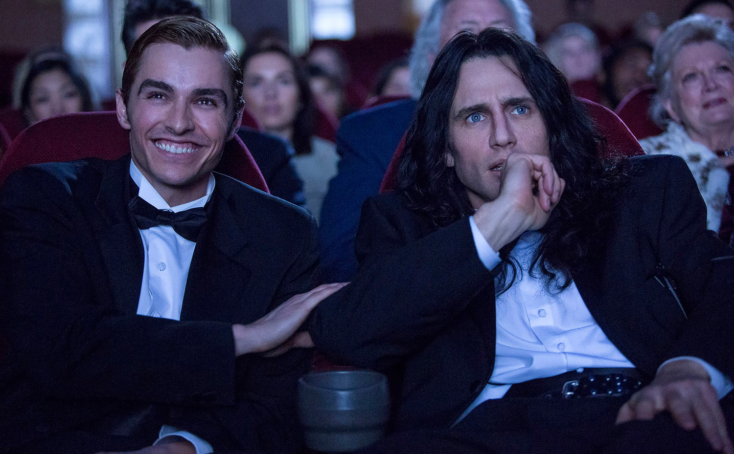 When Greg Sestero, an aspiring film actor, meets the weird and mysterious Tommy Wiseau in an acting class, they form a unique friendship and travel to Hollywood to make their dreams come true.