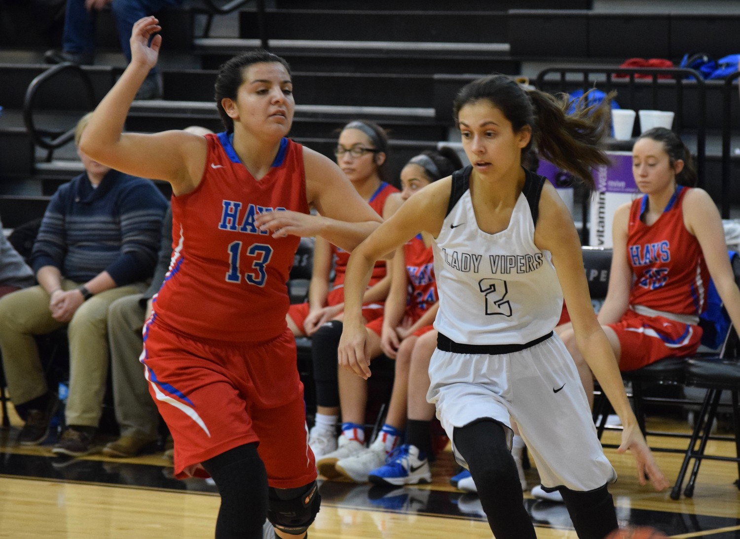 Senior Bee Gonzales scored 10 points and Vandegrift beat Hays 56-52 in double overtime Wednesday night.
