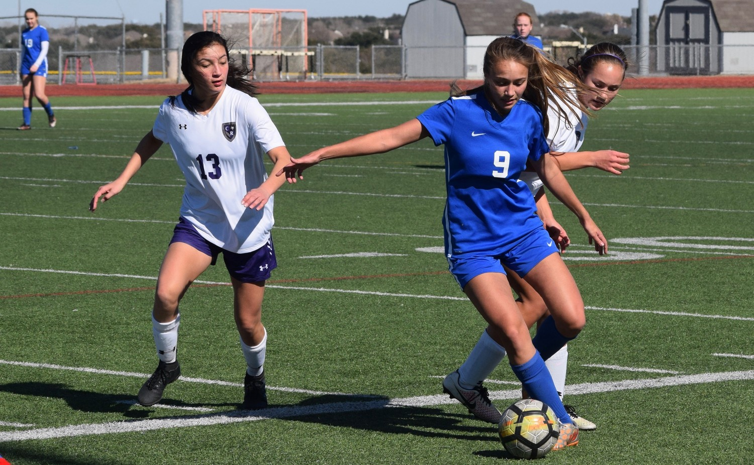 Senior Haley Clark and the Leander girls' soccer team have scored 28 goals and given up just one in its first five games of the season.