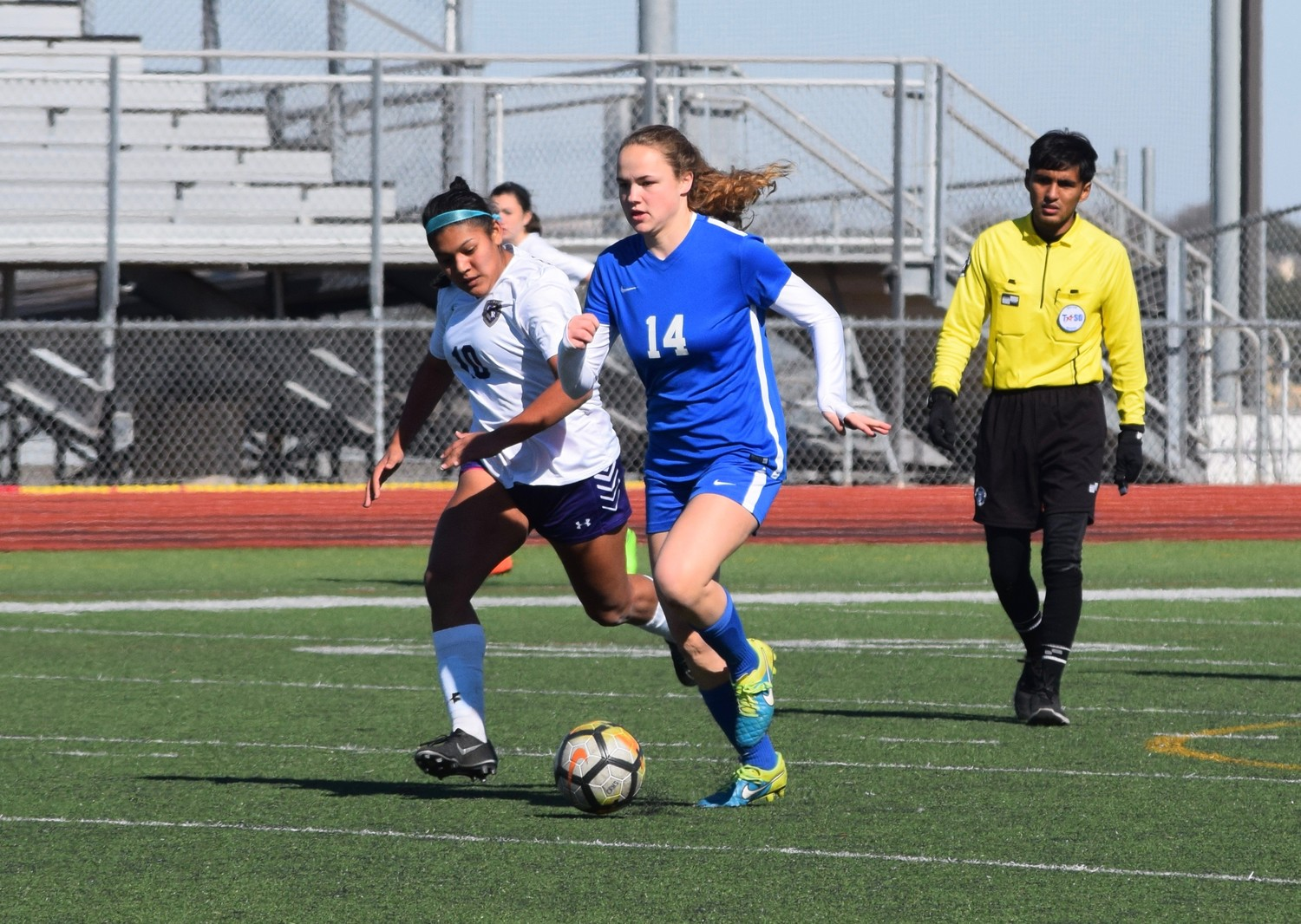 Defender Caroline Crone is one of three senior captains on the Leander girls' soccer team this season.