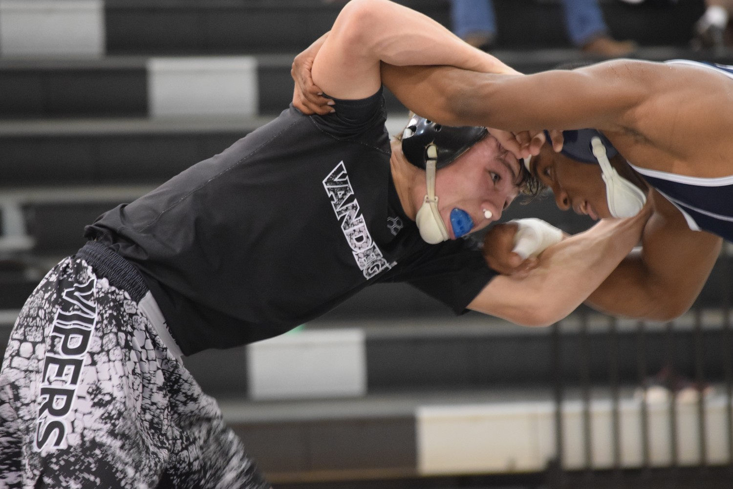 Vandegrift sophomore Luke Sloan is ranked No. 7 in the state in the 126-pound weight class this season according to wrestlingtexas.com.