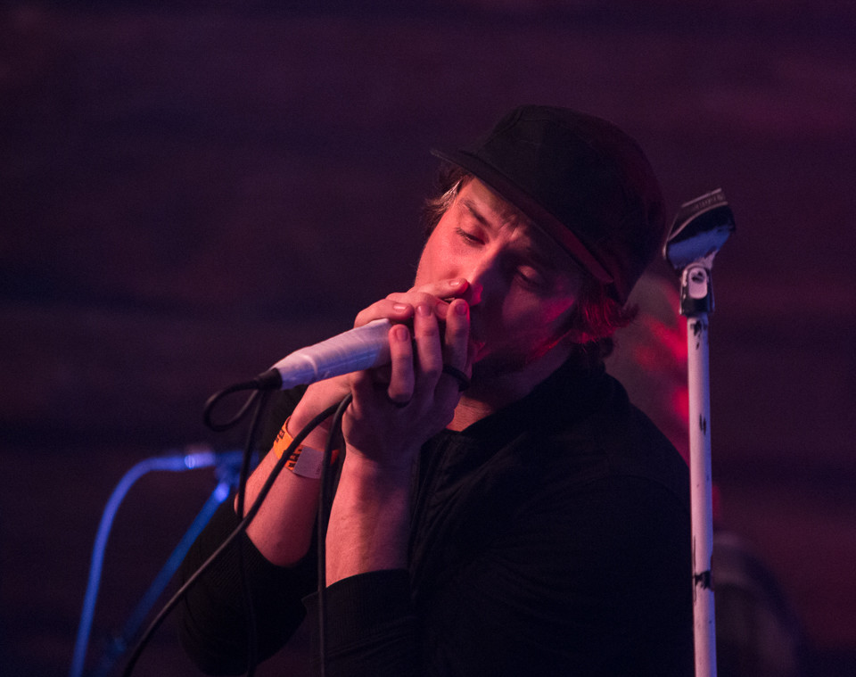 Vocalist Jesse Hasek of 10 Years performs at Come and Take It Live on January 23, 2018 in Austin, Texas.