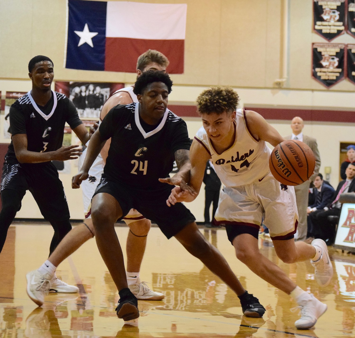 Keaton Brown scored 10 points but Rouse lost to Connally 71-60 at home on Friday night.